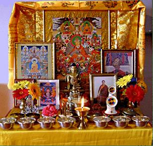 r alisation d 39 un autel bouddhiste site de tulku do khyents rinpoch. Black Bedroom Furniture Sets. Home Design Ideas